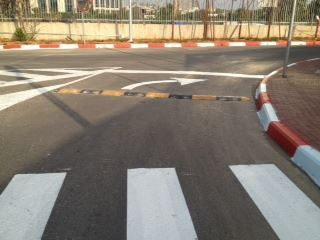 צביעת כבישים בישראל